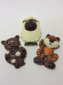 Chocolate Cartoon Animals